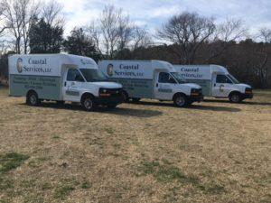 Coastal Services Vans